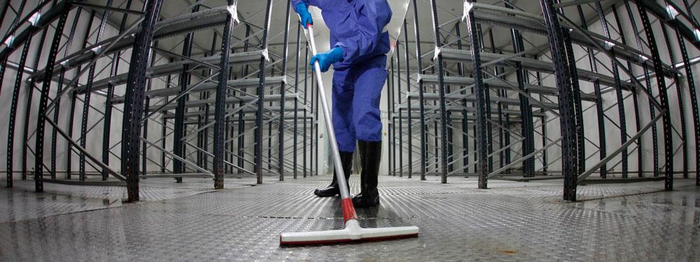 Limpieza fábricas y almacenes